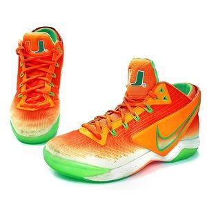 Nike Zoom Field UM Miami Hurricanes Football Shoes